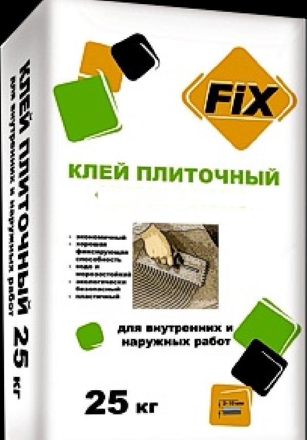 строительные модифицированные смеси fix